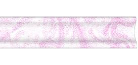 Плинтус розовый