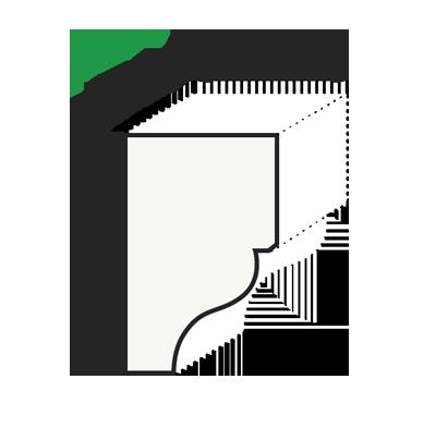 "Габаритные размеры консоли ""Модерн КМ22"""